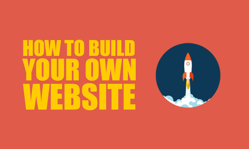How to build your own website with easy steps Build easy website