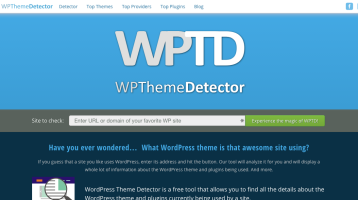 5 Best Websites to Detect WordPress Theme of Any Blog