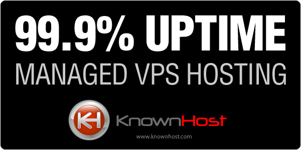 KnownHost Black Friday, Cyber Monday 2020 Deal